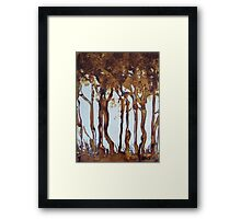 Nescafe Forest Framed Print