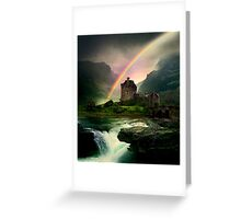 Rainbow Valley Castle Greeting Card