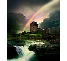 Rainbow Valley Castle Photographic Print