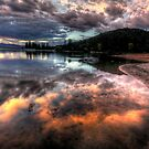 Shoreline Mirror by Bob Larson