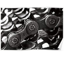 Chain and Sprockets Poster