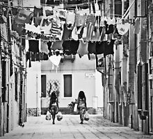 The other Venice - washing day by Luisa Fumi