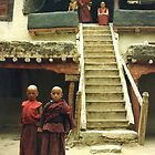 Young buddhists  by jensNP