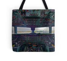 DC7B Cockpit Tote Bag