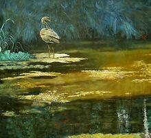 Great Blue Heron by Will Vandenberg