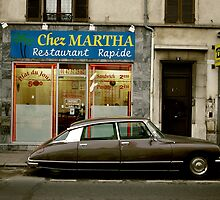 Wandering : Chez Martha by Jeremy  Barré
