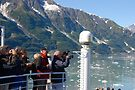 Photog Action - Hubbard Glacier by John Schneider