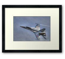 FA-18 Hornet - Swiss Air Force  Framed Print