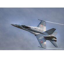 FA-18 Hornet - Swiss Air Force  Photographic Print
