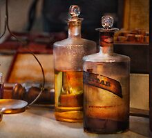 Apothecary - Magic Elixir  by Mike  Savad