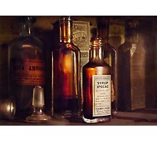 Apothecary - Domestic Remedies  Photographic Print
