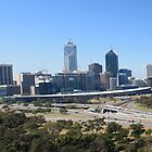 Perth City Panorama by Mark Bird
