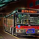 City bus reflections  by pdsfotoart