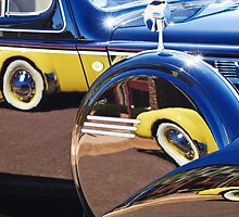 Cord Reflected into a Cadillac by Jill Reger