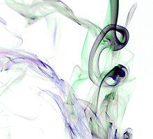 Inky smoke by David Fletcher