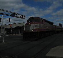 1128 MBTA Commuter Rail  by Eric Sanford