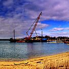 Sag Harbor Bridge is  Coming Down by Rick Gold