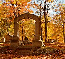 Autumn Sparkle at the Cemetery by kelleygirl