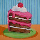 Cake slice 1 by nancy salamouny