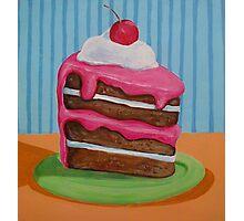 Cake slice 1 Photographic Print