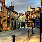 Late Afternoon in the Montpelier Quarter, Harrogate by Christine Smith