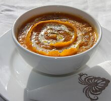 Pumpkin Soup made by me today. by Penny V-P