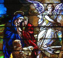 Stained Glass at Church by Terry Aldhizer