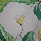 Calla Lily number #3 by Nora Fraser