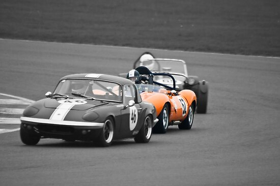 Ginetta G4 in a Lotus Sandwich by Willie Jackson