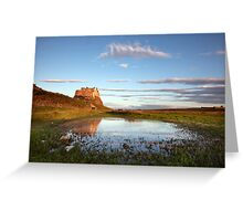 The Castle At First Light Greeting Card