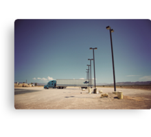 8000 miles USA : On the road 3 Canvas Print