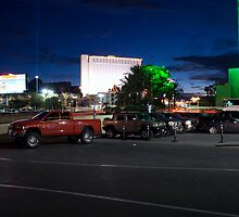 Red Truck, Las Vegas by Jessica Duley