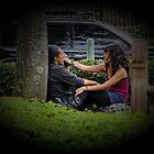 Lovers Of San Jose by Al Bourassa