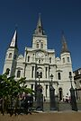 St. Louis Cathedral, New Orleans - Up Close by Allen Lucas
