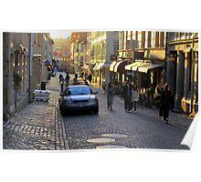 City Atmosphere Gothenburg Sweden Poster