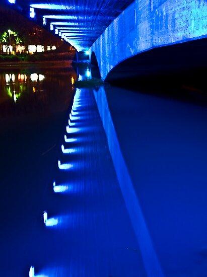 Under Ferdowsi Bridge - Esfahan - Iran by Bryan Freeman