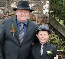 Father and Son of the Bride by Kassey Ankers