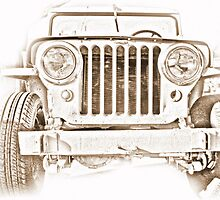 Willy's Jeep by suzannem73