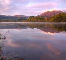 Loch Achray Sunrise by KitDowney