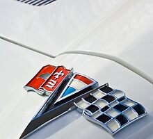 1963 Chevrolet Corvette Sport Coupe Emblem by Jill Reger