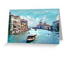 *The Grand Canal Venice* Greeting Card
