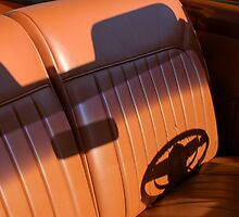 1950 Oldsmobile Rocket 88 Interior by Jill Reger