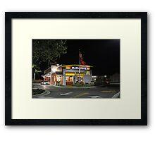 NEW INDRIO McDONALDS Framed Print