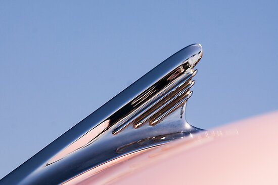 1957 Oldsmobile Super 88 Hood Ornament by Jill Reger