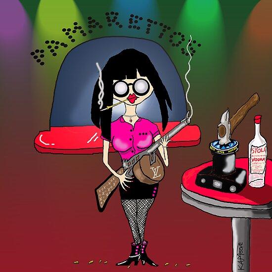 Pam-Pam La Rue by Kev Moore