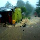 Rain in Freetown by heinrich