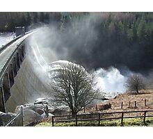 Feel The Force - Laggan Dam, Scotland Photographic Print