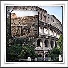 ROME - Colosseum at daylight collage - October 10th 2010 - by Daniela Cifarelli