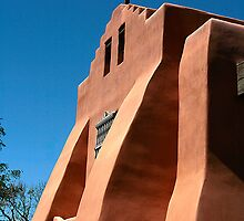 Methodist Church in Adobe Style by David DeWitt