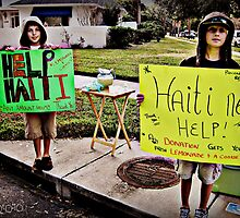 Haiti Helpers by kgphoto
